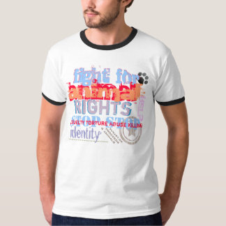fight for animal rights - T-Shirt