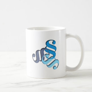 Figur Buchstabe paragraph shape letter Kaffeetasse