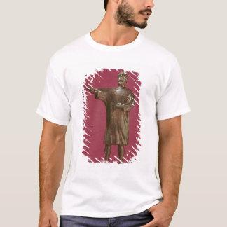 Figürchen eines Mannes, der ein sagum trägt T-Shirt