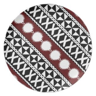 Fijian-Mach-/Fahrtenmesser DiagonalTeller Teller