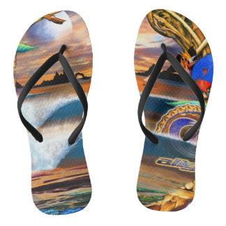 Fijiantraumzapfen Flip Flops