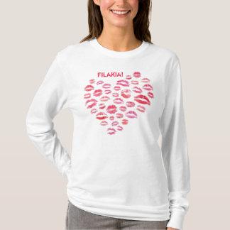 Filakia (Küsse) griechisches Shirt