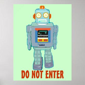 Filia das Roboter-Plakat
