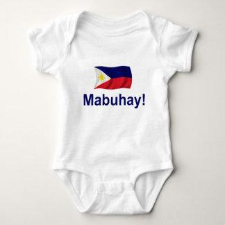 Filipino Mabuhay! Baby Strampler