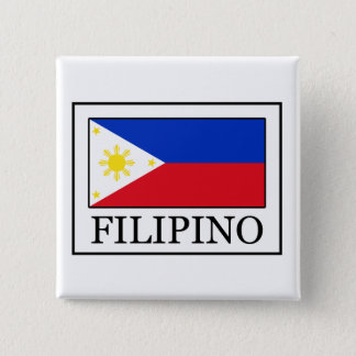 Filipino Quadratischer Button 5,1 Cm