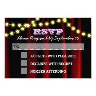 Film beleuchtet lila Schläger Mitzvah UAWG Karte 8,9 X 12,7 Cm Einladungskarte