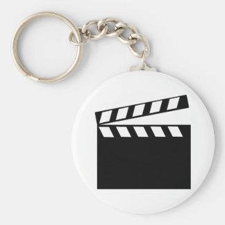 Film-Film-Scharnierventil Standard Runder Schlüsselanhänger