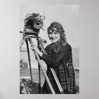 Film-Filmbildstern, Mary Pickford Vintag Poster