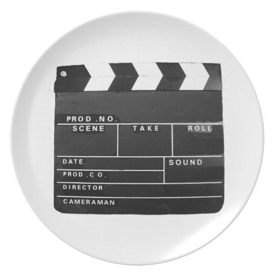 Film-Filmvideoproduktion Scharnierventilbrett Teller