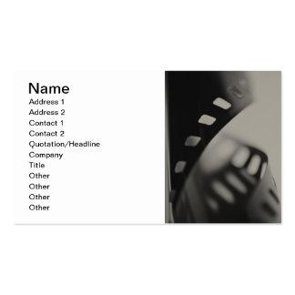 Film-Hintergrund Visitenkarten