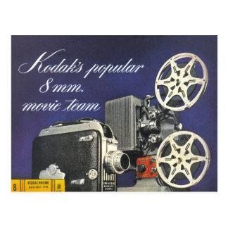 Film-Kamera 1942 und Projektor Postkarte
