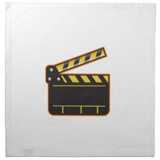 Film-Kamera-Schiefer-Scharnierventil-Brett-offenes Stoffserviette