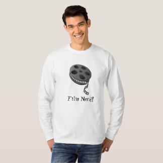 Film-Nerd kundenspezifischer Lang-Hülse T - Shirt