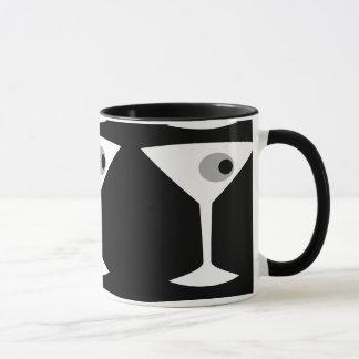 Film-Noir Martini-Glas-Tasse Tasse