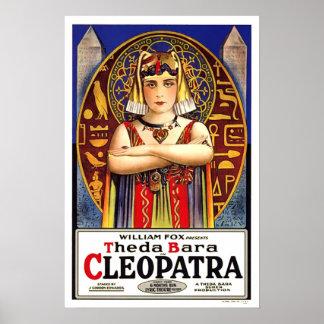 Film-Plakat Theda Baras Kleopatra Poster