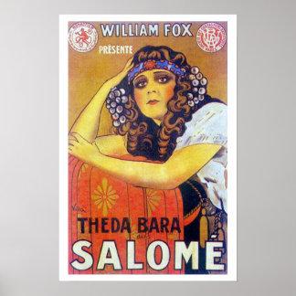 Film-Plakat Theda Baras Salome Poster
