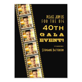 Film-Premiere-Berühmten40. Geburtstags-FotoGala Einladungskarten