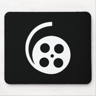 Film-Spulen-Piktogramm Mousepad