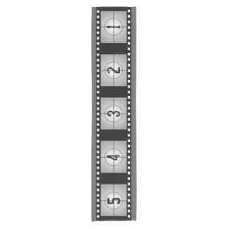 Film-Streifen-Count-down-Film-Thema-Dekor Kurzer Tischläufer