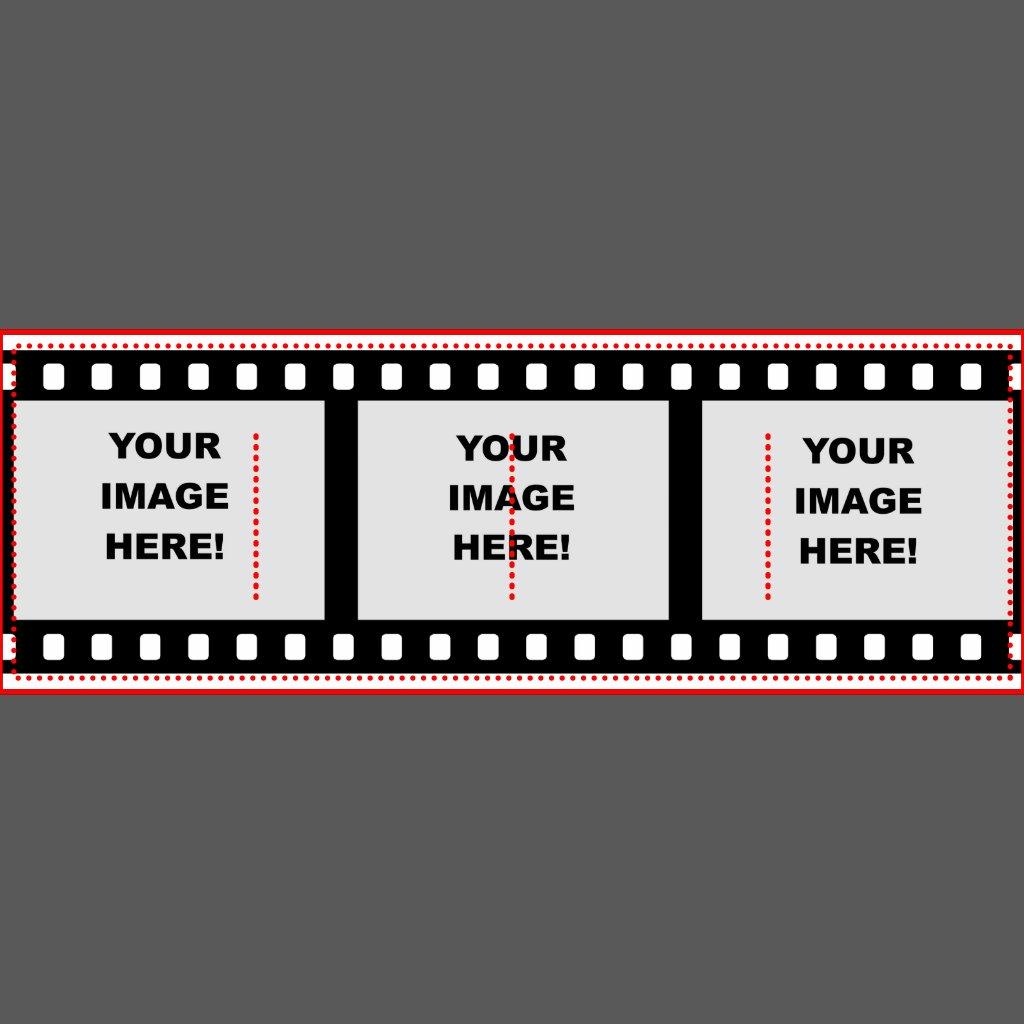 Streifen Schablone Film-streifen-schablone |