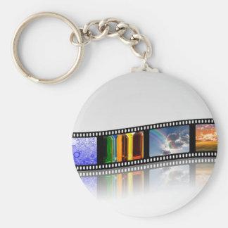 Film-Streifen Schlüsselanhänger