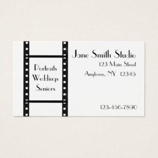 Film-Streifen-Visitenkarte Visitenkarte