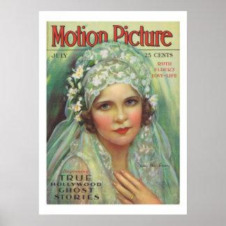 Film-Titelseiten-Druck Mais McAvoy Vintager Poster