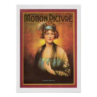 Film-Zeitschriften-Druck 1919 Marion Davies Vintag Plakatdrucke