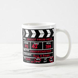Filmbildkamera-Schiefer Kaffeetasse