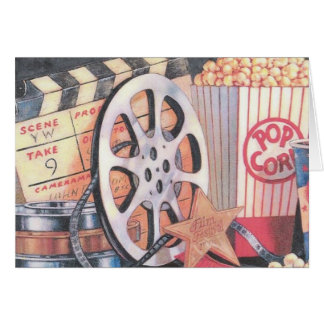 Filme, Popcorn, Film Karte