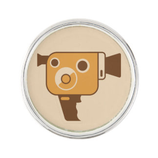 Filmemacher-Film-Kamera Anstecknadel