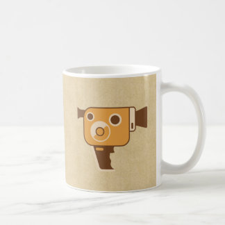 Filmemacher-Film-Kamera Kaffeetasse
