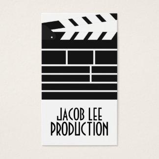 Filmemacher, Filmregisseur-Visitenkarte Visitenkarte