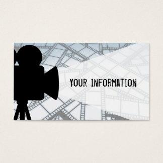 Filmemacher Visitenkarte