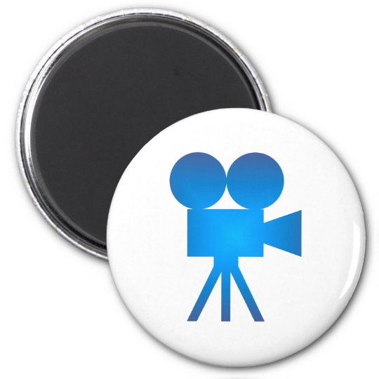 Filmkamera movie camera runder magnet 5,7 cm