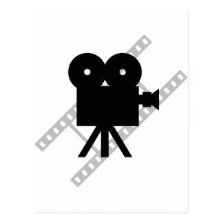 Filmkameraikone Postkarte