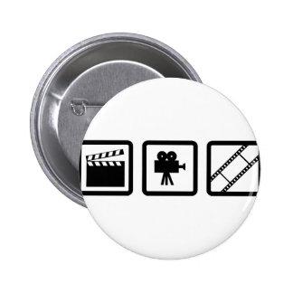 Filmproduktiongang Runder Button 5,1 Cm
