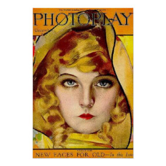 Filmstar-Vintages Plakat Lillian Gish stilles