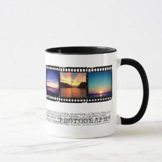 Filmstreifen instagram Foto-Tasse Tasse
