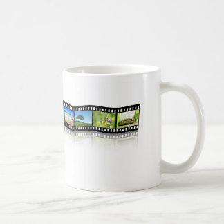 Filmstreifen Kaffeetasse