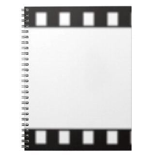 filmstrip notizblock