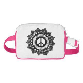 Find your inner peace | Mandala Design Bauchtasche