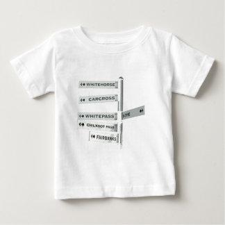 Finden Ihrer Weise in Alaska Baby T-shirt