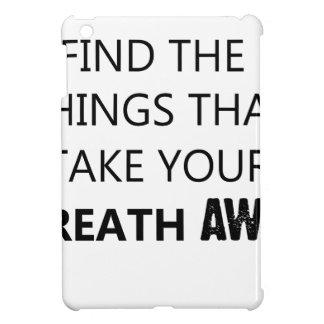 finden Sie die Sachen, die Ihr breat wegnehmen iPad Mini Hülle