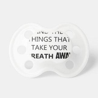 finden Sie die Sachen, die Ihr breat wegnehmen Schnuller
