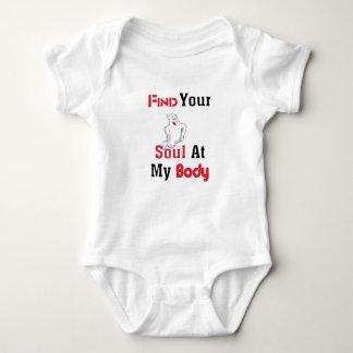 Finden Sie Ihr Soul an meinem Körper Baby Strampler