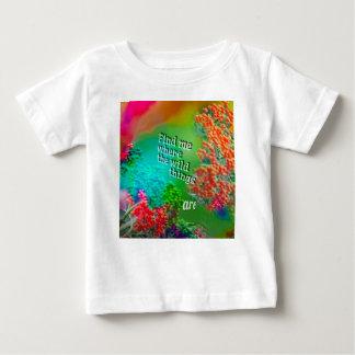 Finden Sie mich wo i-Liebe zu sein Baby T-shirt