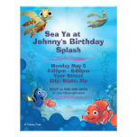 Findet Nemo-Geburtstags-Einladung
