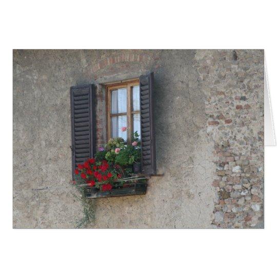 Finestra Di Villa, Toskana, Italien Karte