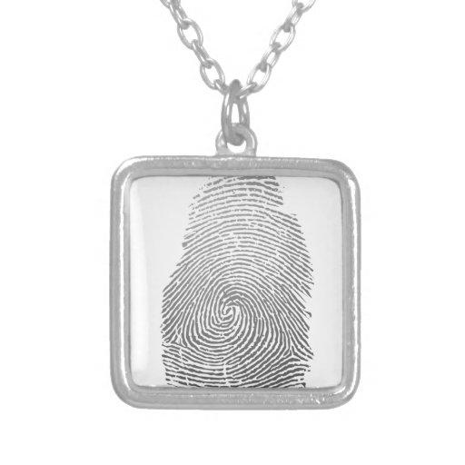 Fingerabdruck Amulett